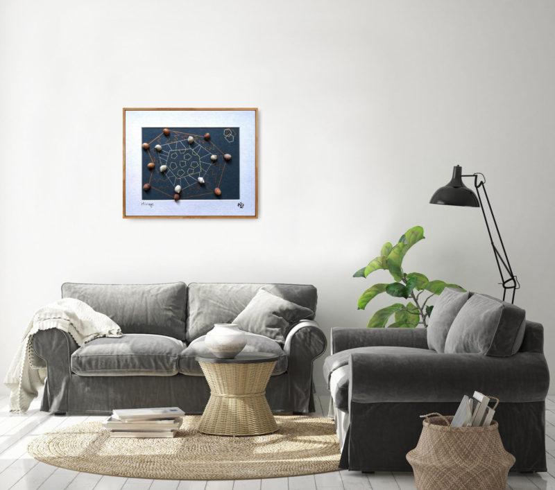 mirage, geometrical art